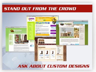 Ask Us About Custom Designs